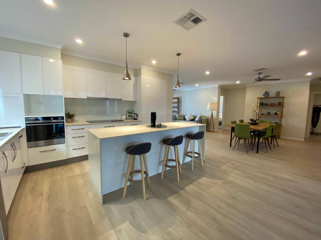 Unit 202's fabulous kitchen and dining