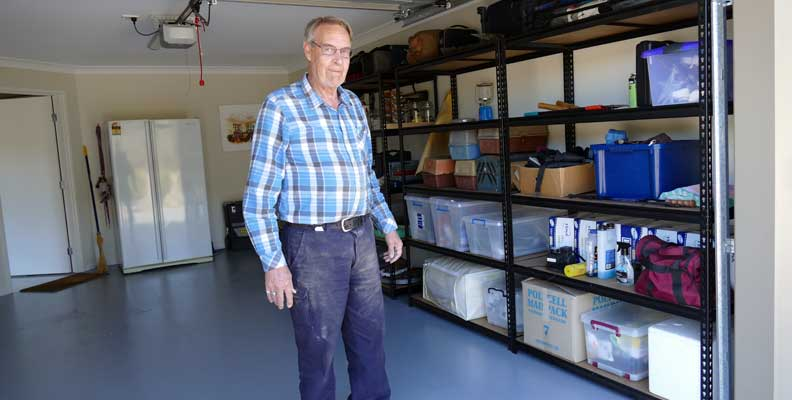 """""""I now have more room in the garage than I ever had in my shed."""""""